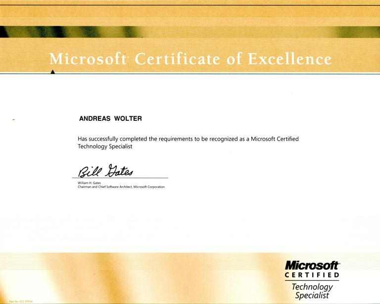 mcts microsoft certified technology specialist in computing it